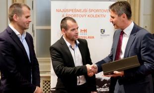 Najúspešnejší športovec a športový kolektív Bratislavy a Bratislavského kraja 2017  má víťazov