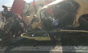 Medzi Budmericami a Modrou došlo k tragickej dopravnej nehode, čelnú zrážku vodič neprežil