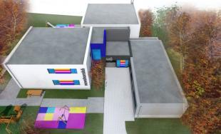 Na Novohorskej ulici rastie nová moderná škôlka, Rača chce pre deti vytvoriť viac miest